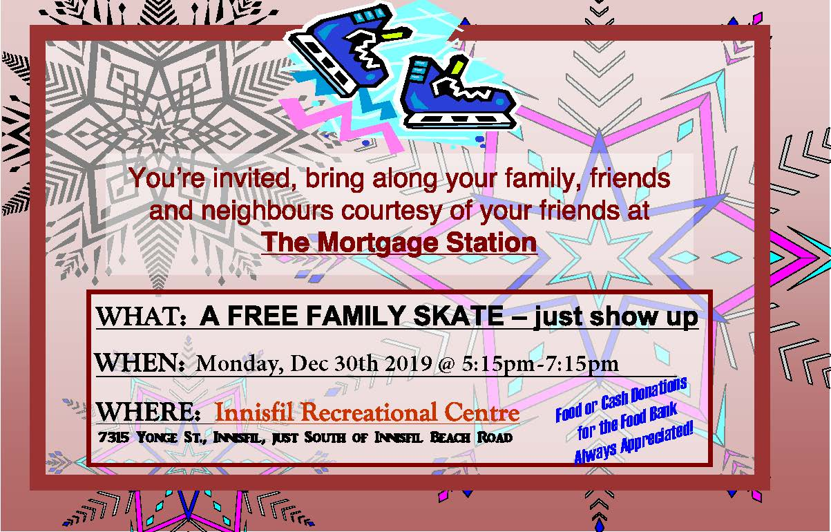 Mortgage Station Free Skate Front 2019 - Front Page